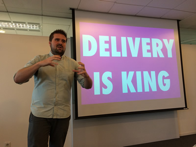 Delivery is King. So says Matt Skinner.